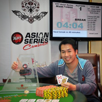 Ha Duong takes home APT Asian Series Cambodia title, Linh Tran bags High Rollers event