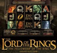 lord of rings slot