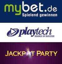 mybet playtech jackpot party