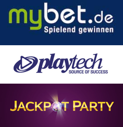 mybet growth stifled by weak margins; High 5 for Playtech; Jackpot Party brings the Glitz
