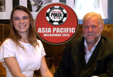 The World Series of Poker is headed Down Under