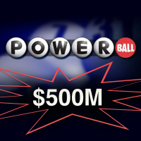 powerball now at 500m usd