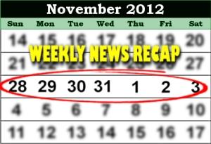 weekly news recap november 3