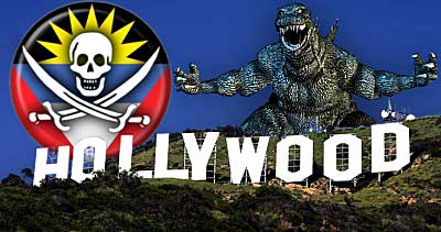 antigua hollywood godzilla