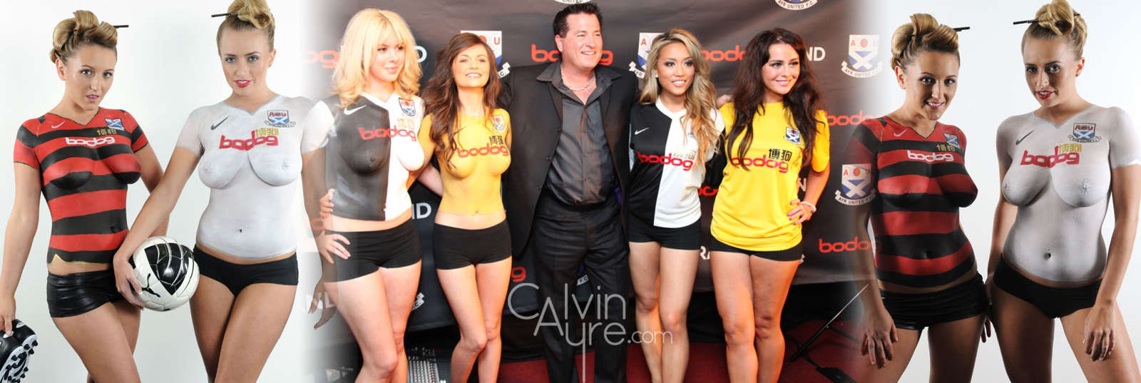 Bodog's revealing of the Ayre United jerseys