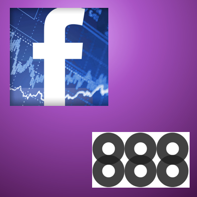 Facebook and 888 hook up for some real-money