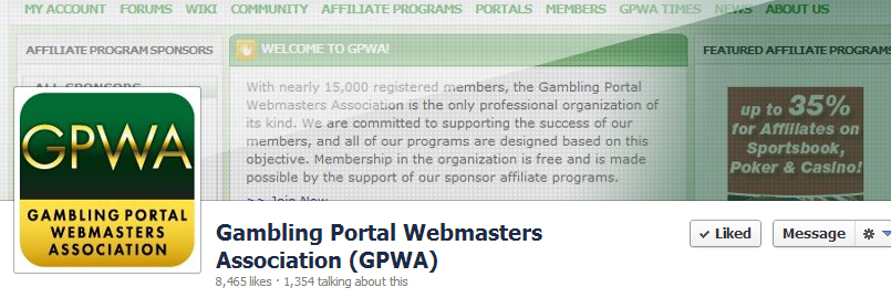 Gambling Portal Webmasters Association (GPWA)