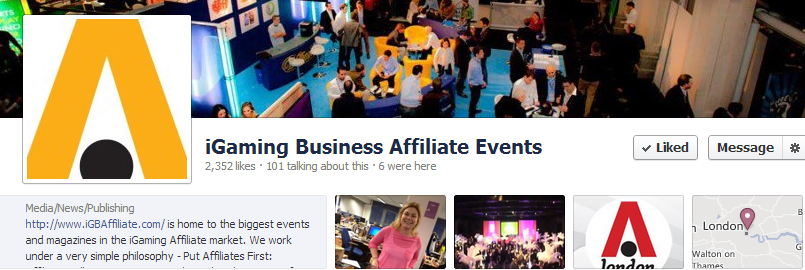 iGB Affiliate Events 2012