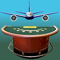 Mile High Rollers: French design firms propose installing casinos on jet airliners