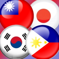korea-phlippines-taiwan-japan