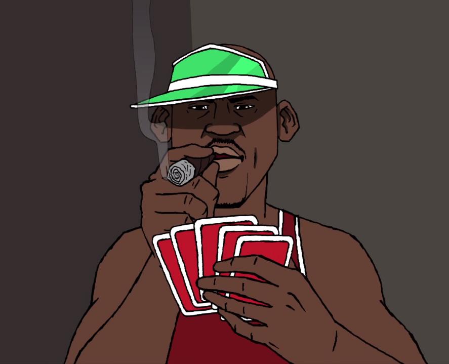Air Jordan Poker