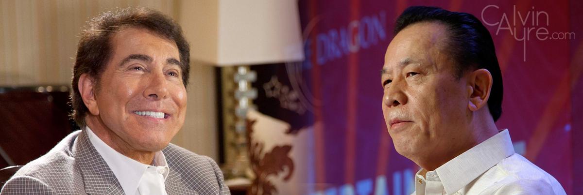 Steve Wynn and Kazuo Okada