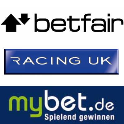 Betfair gets rude awakening; Four bookies go racing; mybet bites off more German sausage