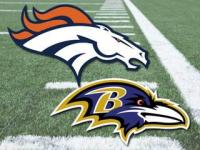 broncos ravens nfl playoffs