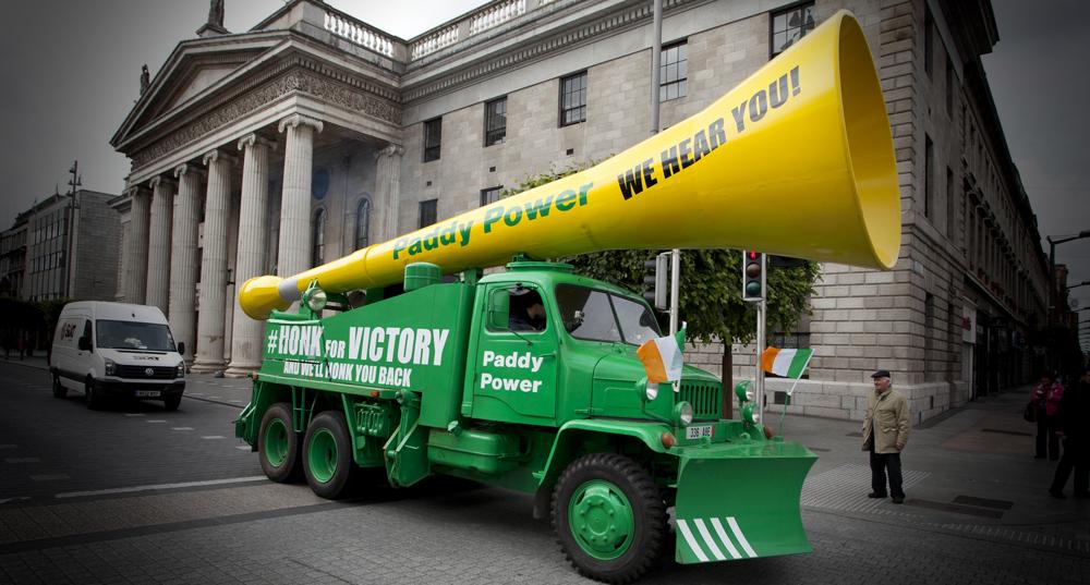 Paddy Power's Vuvuzela Truck
