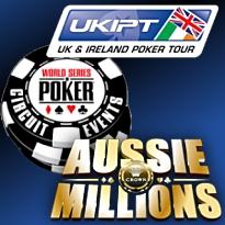WSOP-C, UKIPT, Aussie Millions winners; Valerio and Mizrachi's new gigs