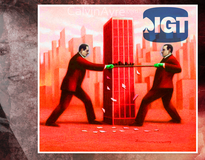 IGT's Proxy Fight Has Become A Bloodbath