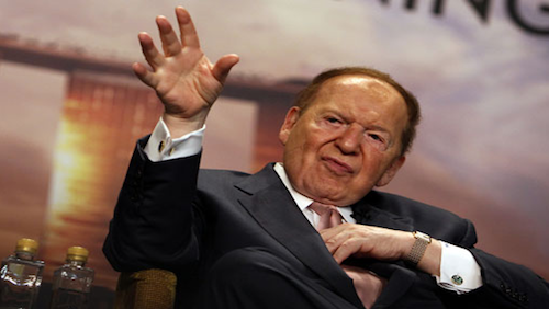 Sheldon Adelson sues Wall Street Journal reporter for libel