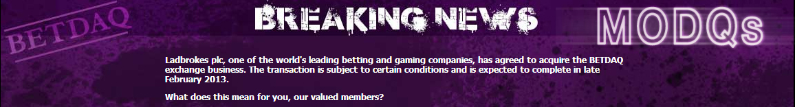 Can Ladbrokes Create a Betting Exchange Battle?