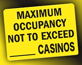 No overall bump in Atlantic City casino win following Taj Mahal closure