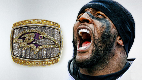 Ray Lewis of Baltimore Ravens