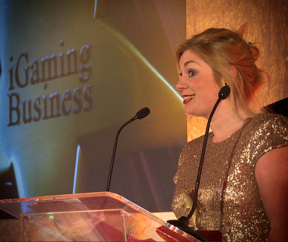 Shona O'Donnell of iGaming Business at IGA 2013