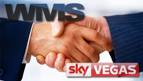Sky Betting & Gaming and WMS Enter Into an Online Content Agreement