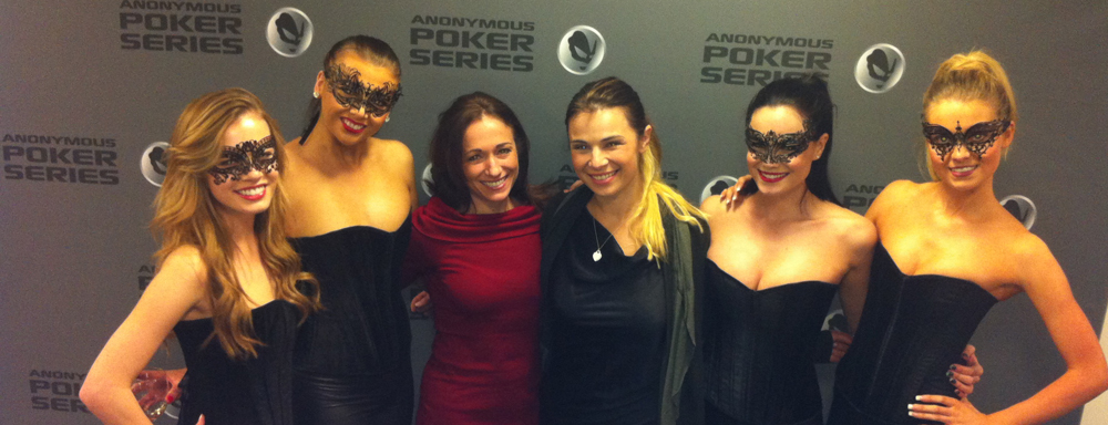 Anonymous Poker Series Models with Becky and Tatjana