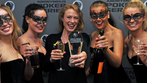 Bodog's Anonymous Poker Series first live event taken down by Claire Renaut