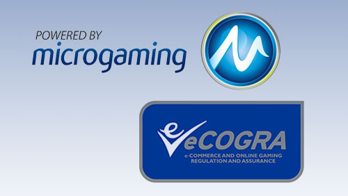 Microgaming get eCOGRA Seal of Approval; Sheriff Gaming Release Two More 3D Titles