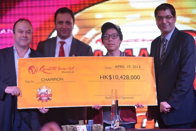 Joseph Cheong Wins the Manila Millions; Switch Poker Launch New Website