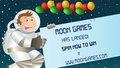 NEW ONLINE CASINO MOONGAMES.COM LAUNCHES with #1 spot in mind
