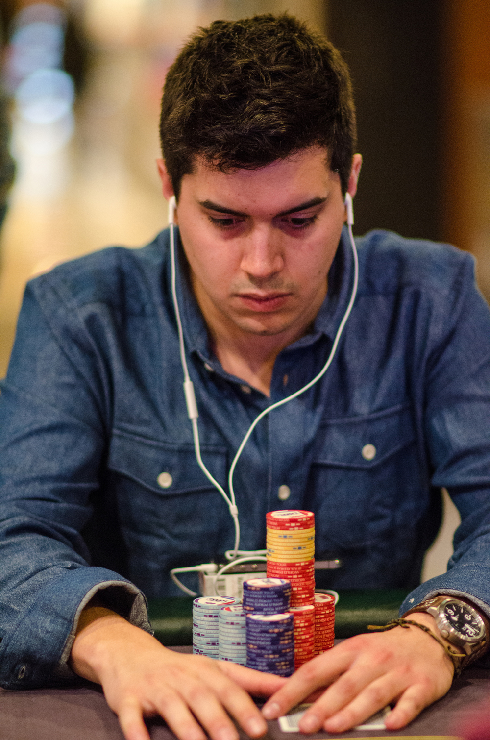 Sergio Fernandez, Leads Day Two of WPT Barcelona