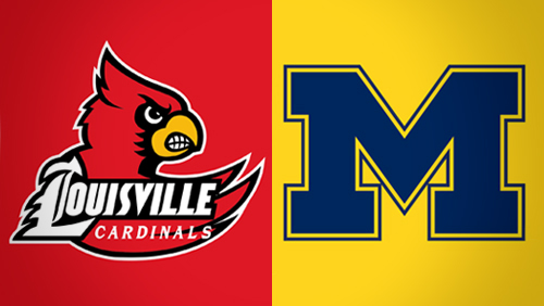 Louisville slightly favored over Michigan in NCAA title game