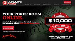 Ultimate Poker wins Nevada-licensed online poker real-money race
