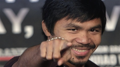 Manny Pacquiao is now a pro basketball head coach