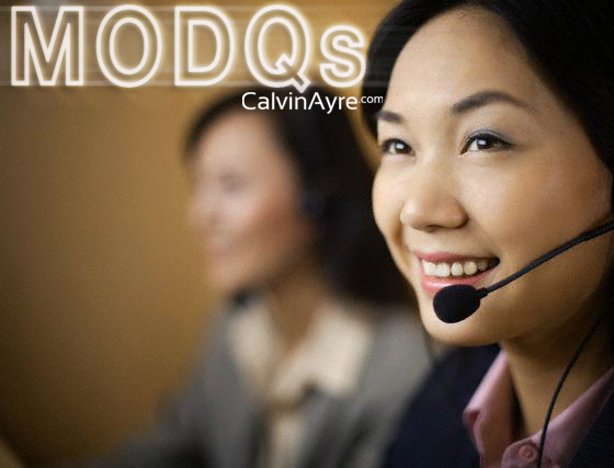 MODQs - Can Customer Care be a USP?