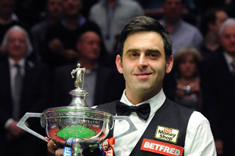 Ronnie O'Sullivan Wins the Betfair World Snooker Championship