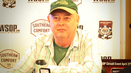 Chris Reslock the World Series of Poker Circuit (WSOPC) Record Breaker