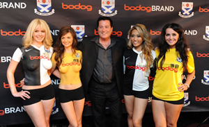 Ayr United announce continued sponsorship from Bodog as Rangers join the Division