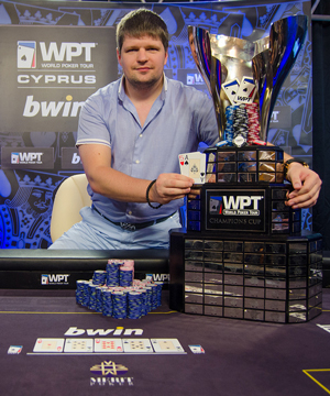 Alexey Rybin is the bwin WPT Merit Cyprus Classic Champion