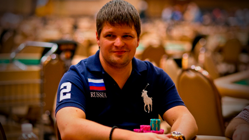 alexey rybin leads third consecutive day wpt cyprus