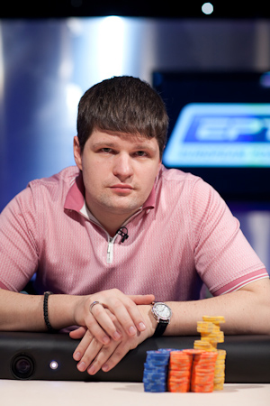Alexey Rybin Leads Day 1A bwin WPT Merit Cyprus Classic