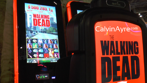 Zombies And The Walking Dead Slot Machine Take Over G2e 2013