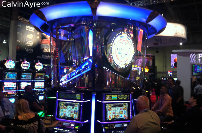 G2E Recap, Day 1: New Slots