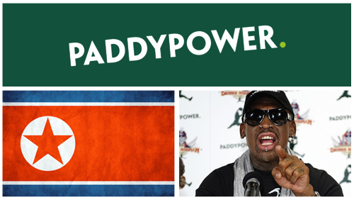 Paddy Power join forces with Dennis Rodman for basketball exhibition in North Korea