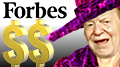 Sands' Adelson tops gaming interests on Forbes list of rich Americans