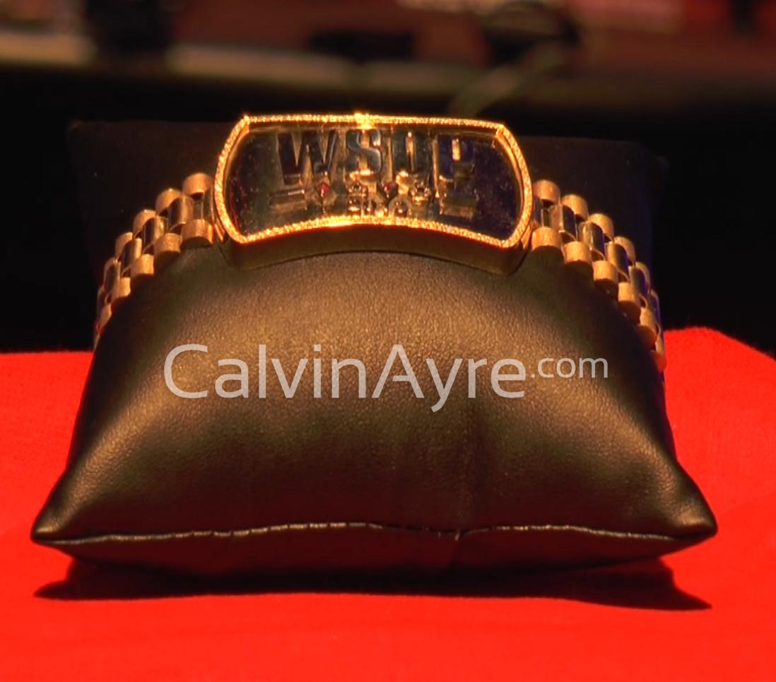 2013 WSOPE Bracelet