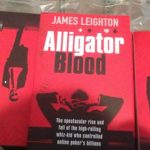 James Leighton on the Nov 7th Launch of Alligator Blood