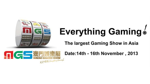 CalvinAyre.com is media sponsor for Macau Gaming Show 2013